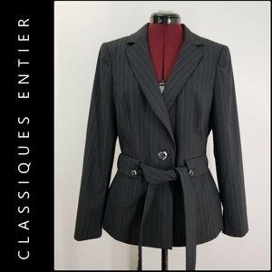Classiques Entier Woman Pinstripe Blazer Suit 12